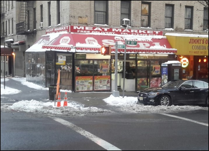 Corner Retail on 181st Street in Washington Heights