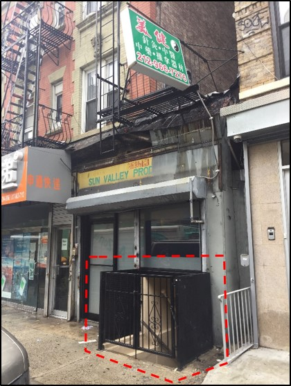 New Listing – Lower Level Retail or Office Space in Chinatown/LES