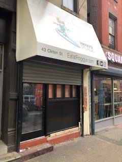 Rent Reduction – Clinton Street Retail / Cafe