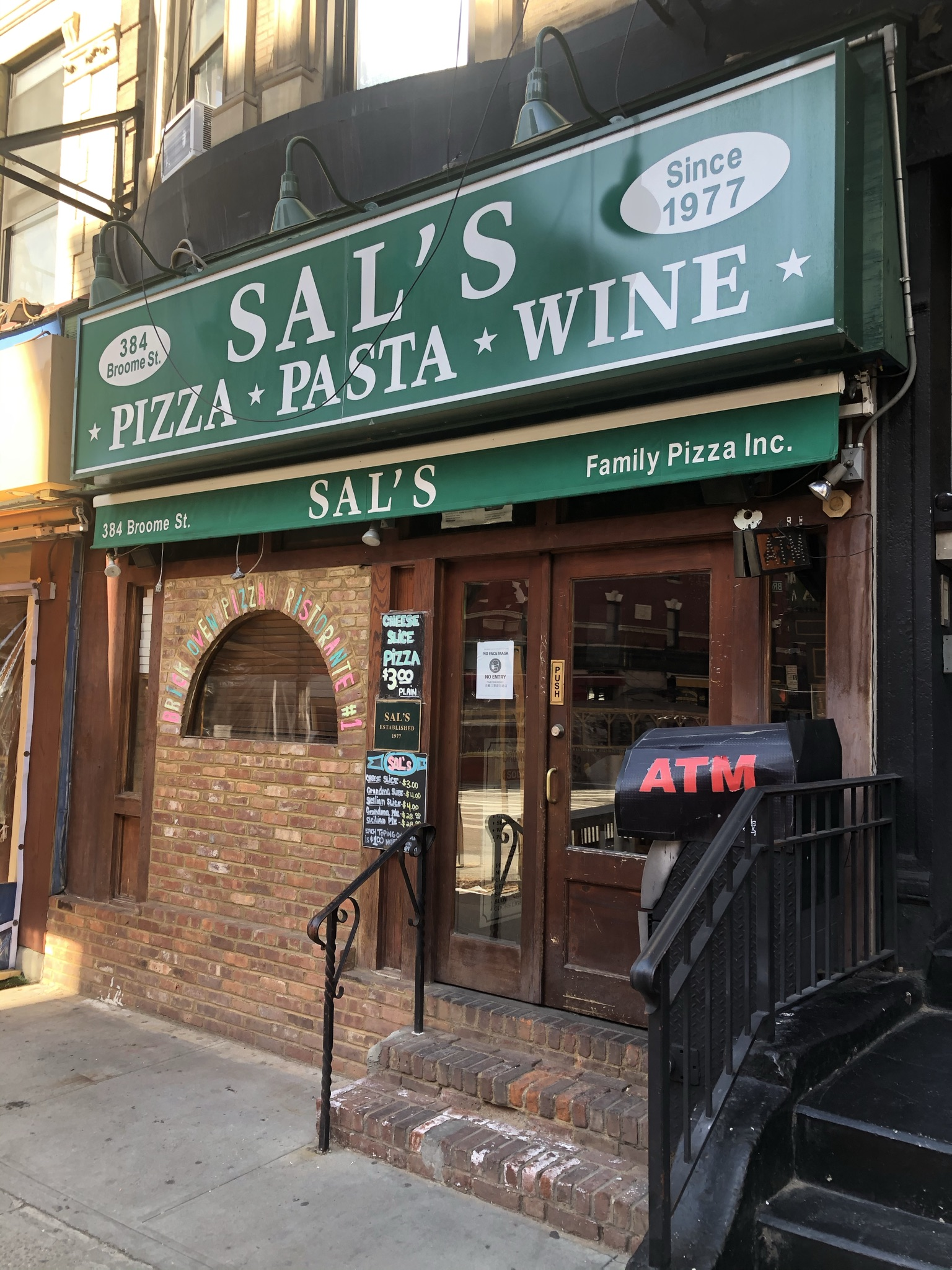 New Listing – NoLita – Vented Restaurant Space Available