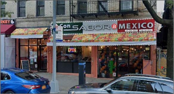 New Restaurant Opportunity – 181st Street in Washington Heights